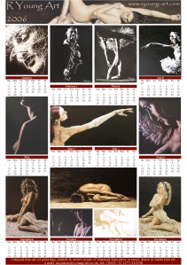2006 fine art dance and figurative calendar