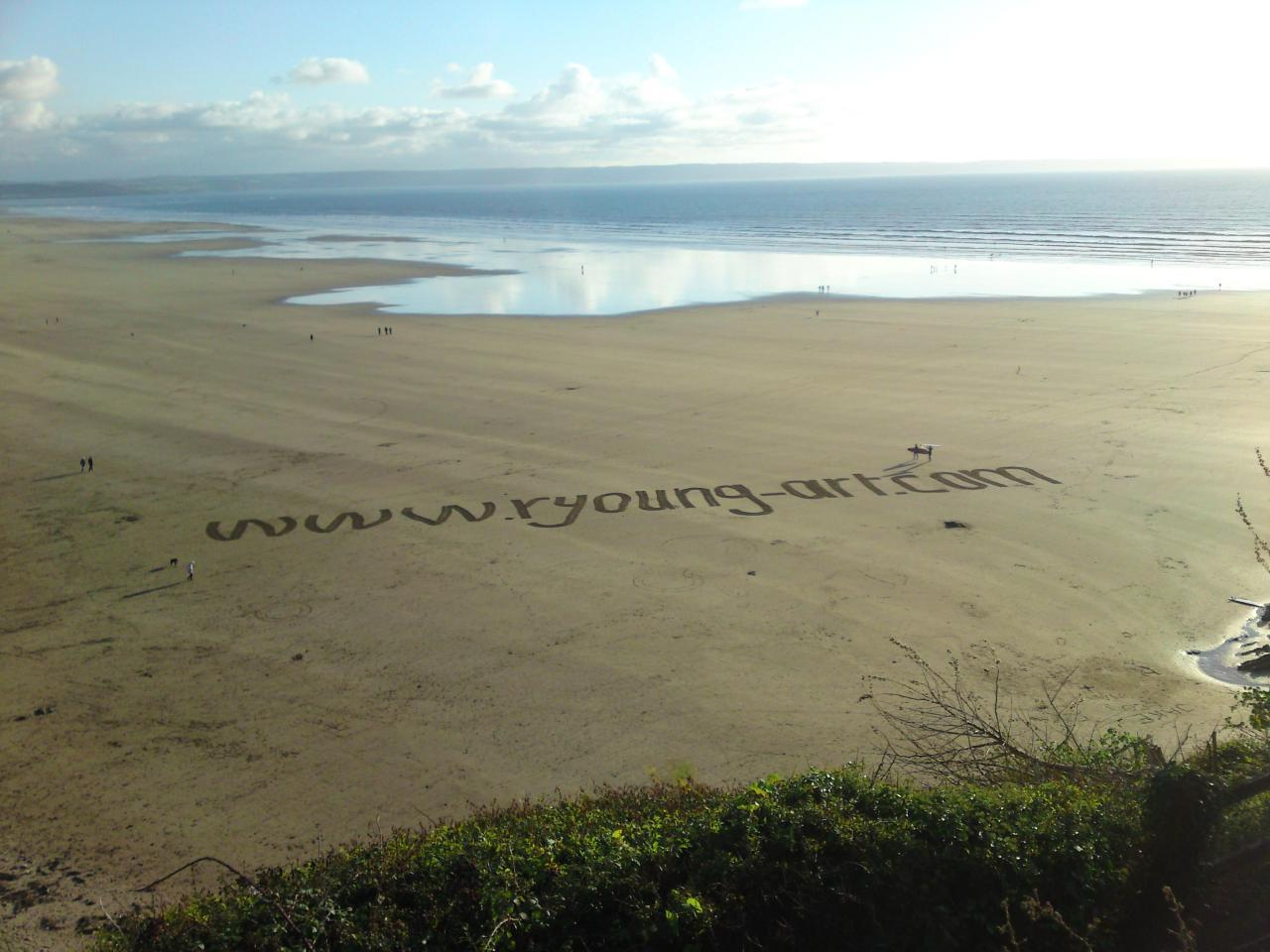 2009 September Saunton Sands advertising.JPG