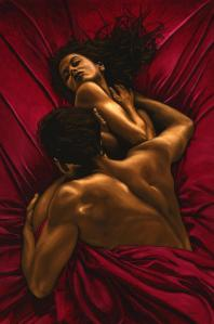 The Passion Fine art original oil painting. 91cm x 61cm