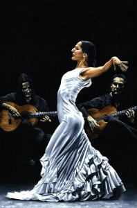 Concentración del Funcionamiento del Flamenco - Mercedes Ruiz (Flamenco Performance Concentration)