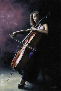 Emotional Cellist