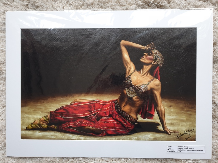 Arabian Coffee Awakes Ltd Edition Print