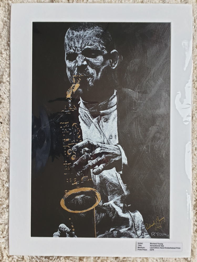 Sensational Sax Ltd Edition Print